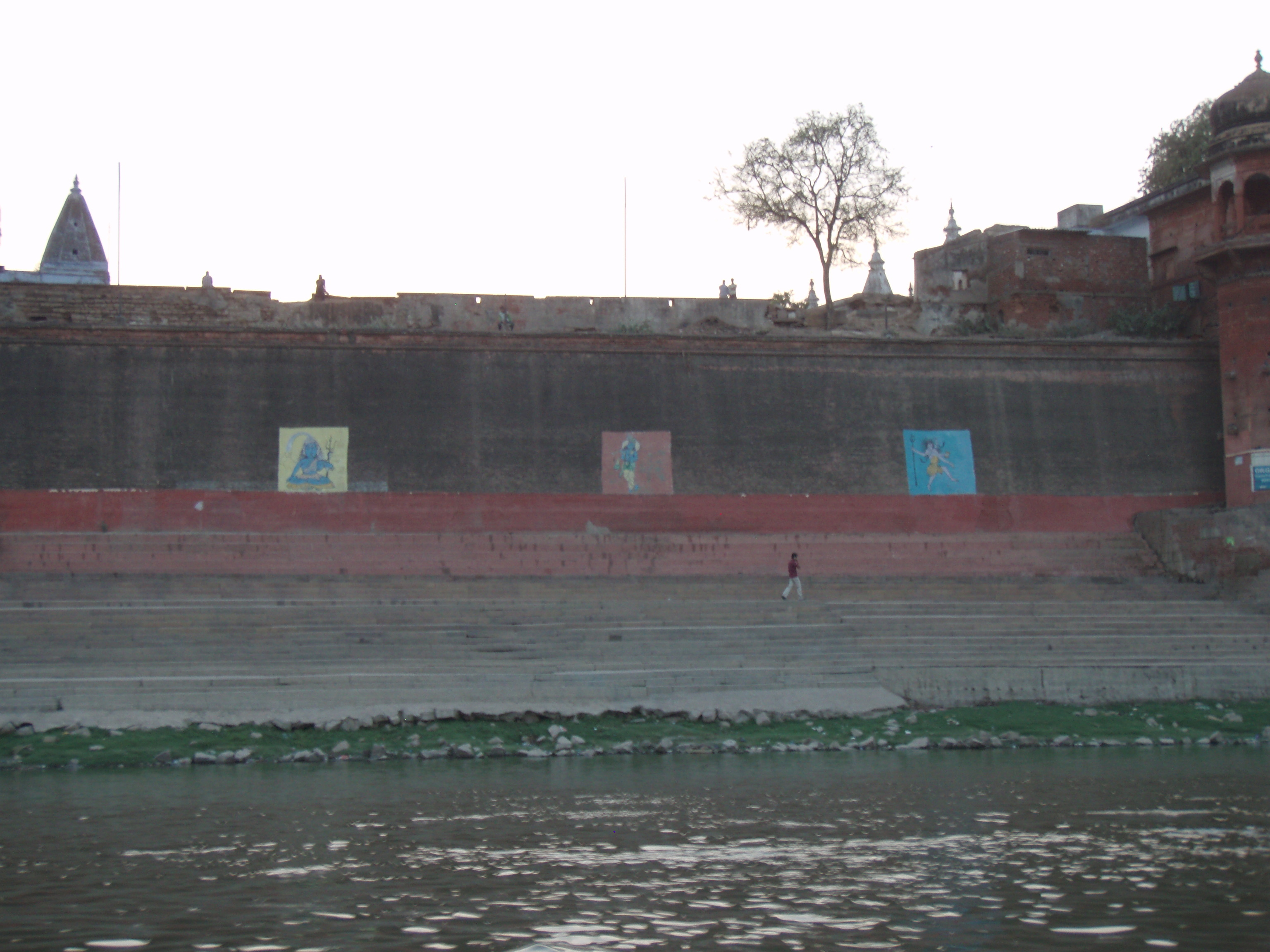 Varanasi and nearby Sarnath